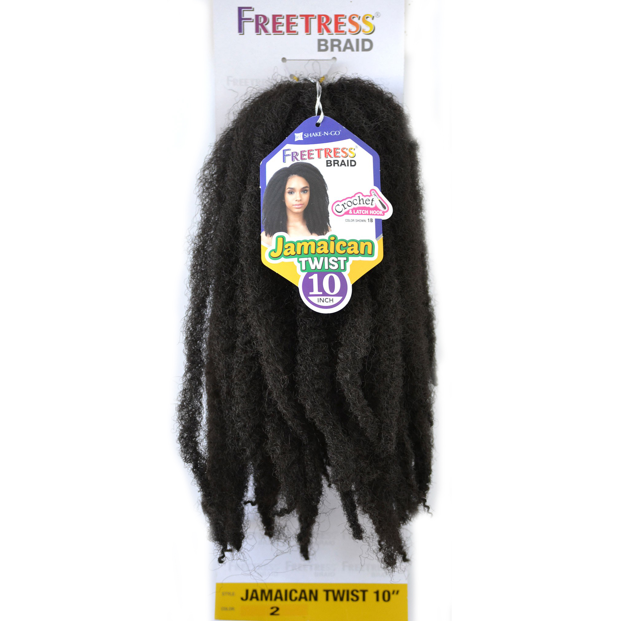 Crochet Braids Jamaican Twist Hair : ... > Hair Care & Styling > Hair Extensions & Wigs > Hair Ex...