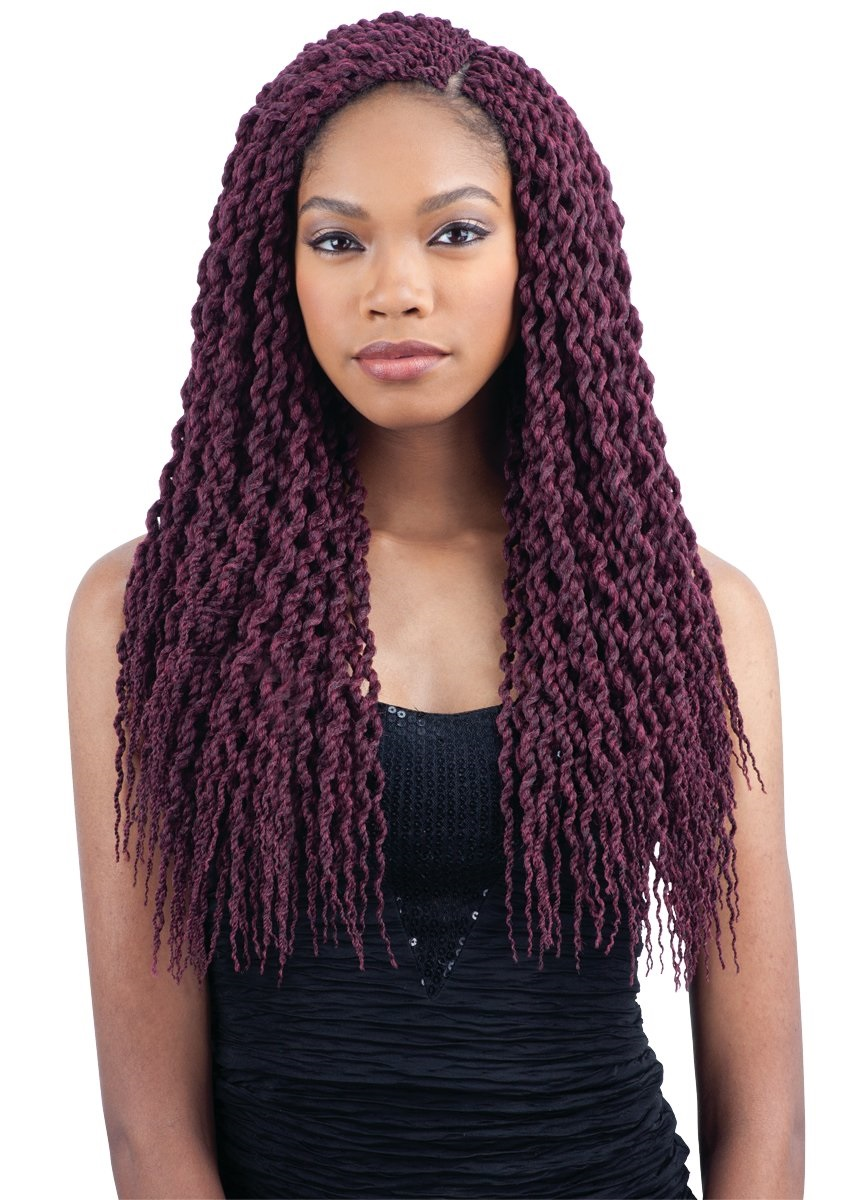 CURLY SENEGAL TWIST - FREETRESS SYNTHETIC PRE-LOOPED