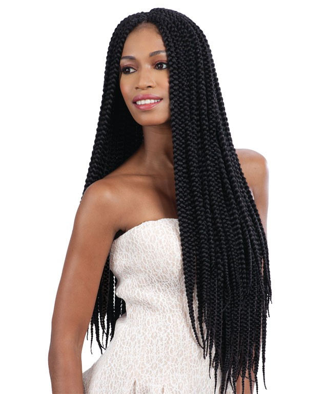 Freetress Large Crochet Box Braids : LONG-LARGE-BOX-BRAID-FREETRESS-BULK-CROCHET-amp-LATCH-HOOK-BRAIDING ...