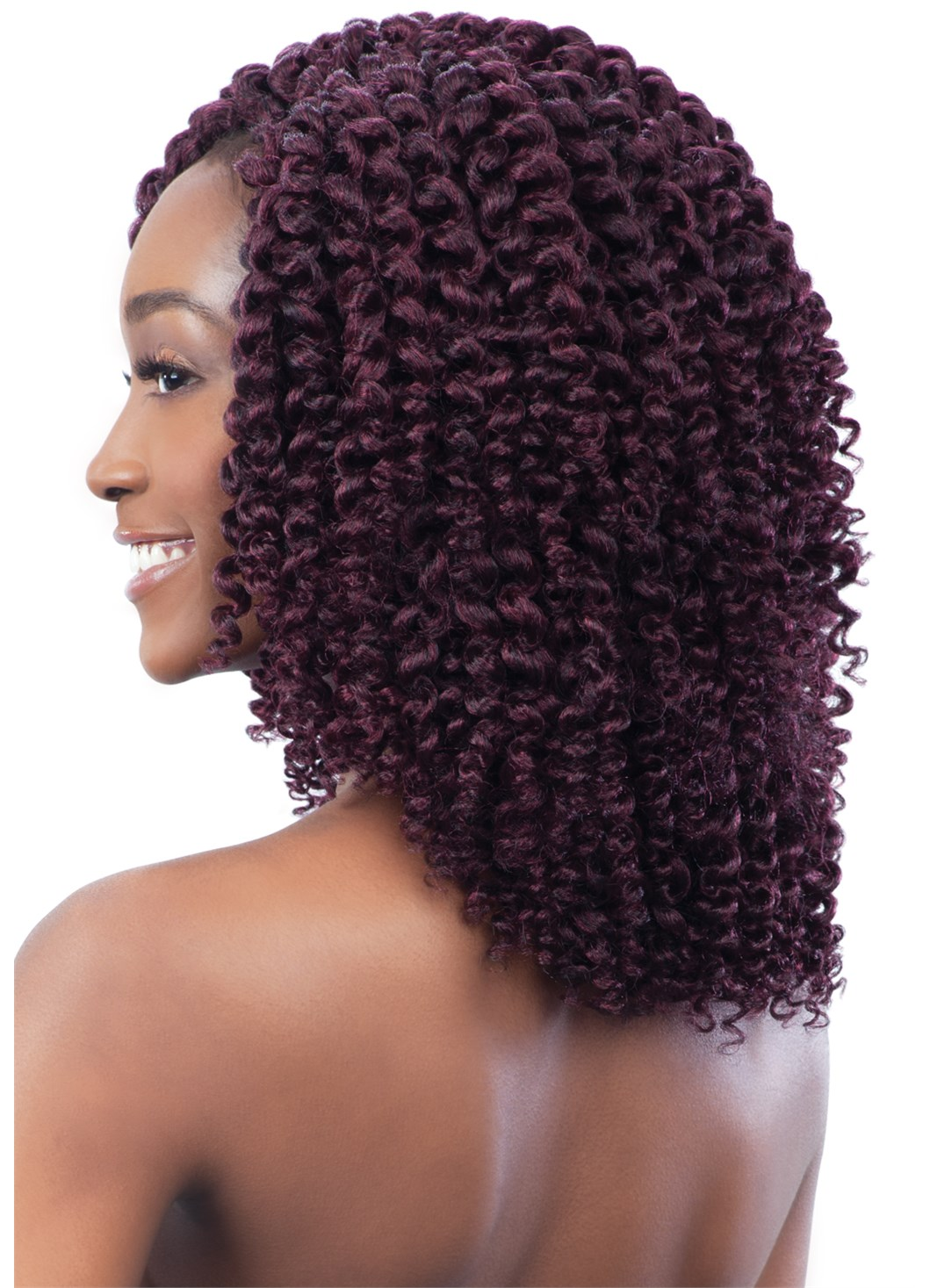 Crochet Hair Spirals : ... about SPIRAL WAND CURL - MODEL MODEL GLANCE SYNTHETIC CROCHET BRAID