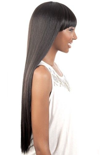 HB JEWEL - MOTOWN TRESS N.E.1 ANYONE WIG HUMAN HAIR BLENDED CLEOPATRA STYLE