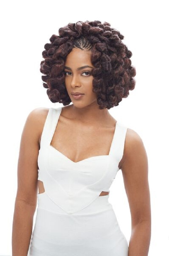 ... BOUNCE-TWIST-JANET-COLLECTION-NOIR-100-KANEKALON-CROCHET-BRAIDING-HAIR