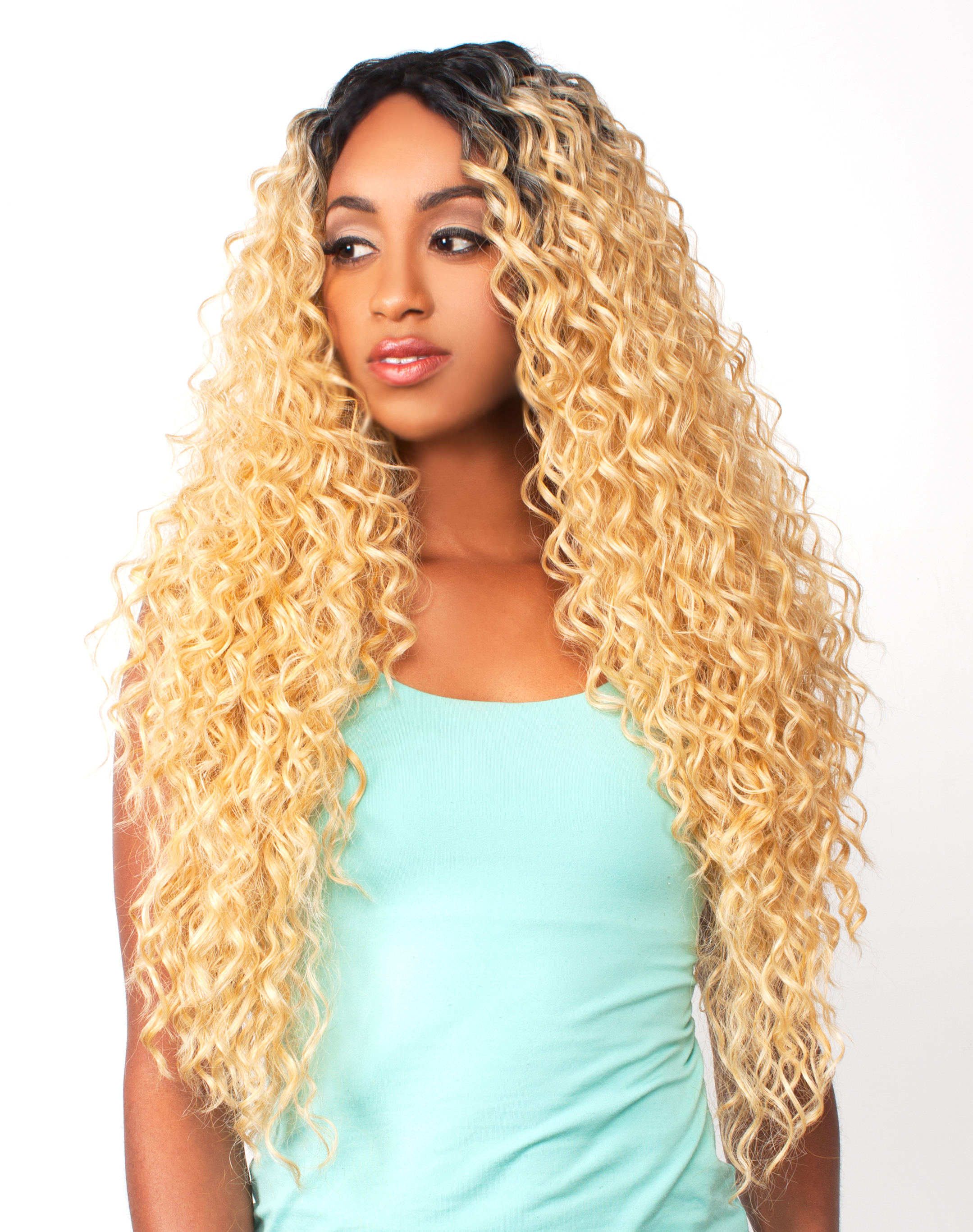 LH PERUVIAN - THE WIG BRAZILIAN HUMAN HAIR BLEND INVISIBLE