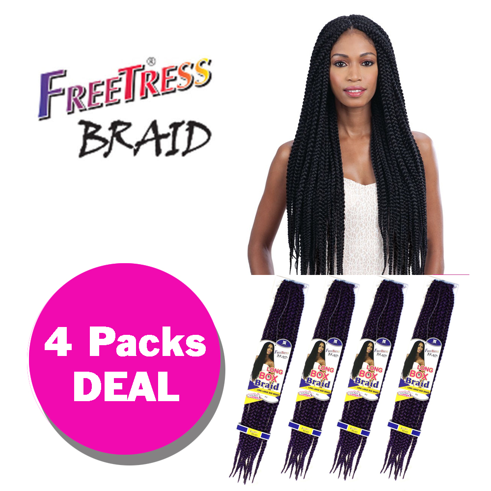 Freetress Crochet Box Braids Medium : Health & Beauty > Hair Care & Styling > Hair Extensions & W...
