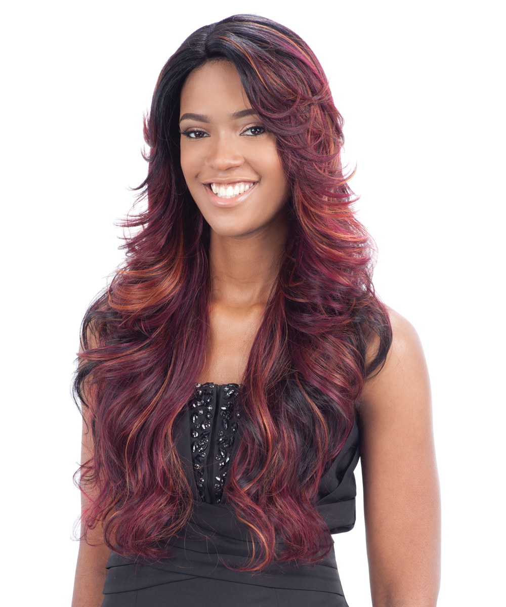 MIZZY - FREETRESS EQUAL DEEP INVISIBLE PART LACE FRONT WIG