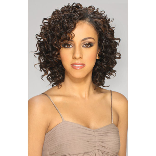 """NEW DEEP 5PCS 8"""" QUE BY MILKYWAY 100% HUMAN HAIR MASTERMIX WEAVE EXTENSION"""