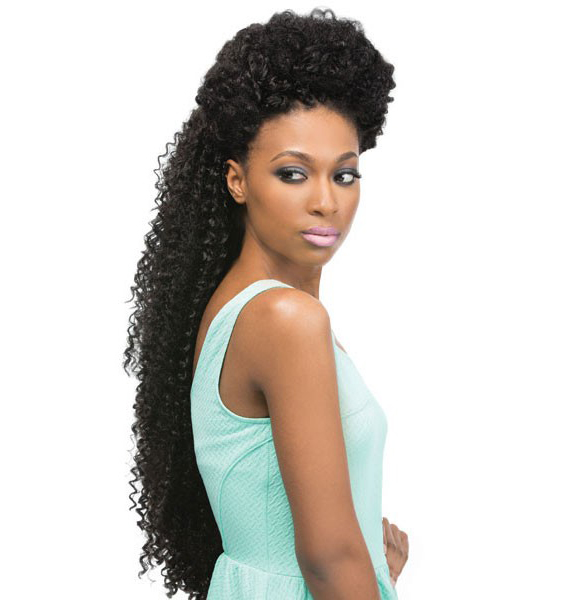 Crochet Braids With Xpressions Kanekalon Hair : ... -CURL-24-034-BRAID-OUTRE-X-PRESSION-SYNTHETIC-CROCHET-KANEKALON-HAIR