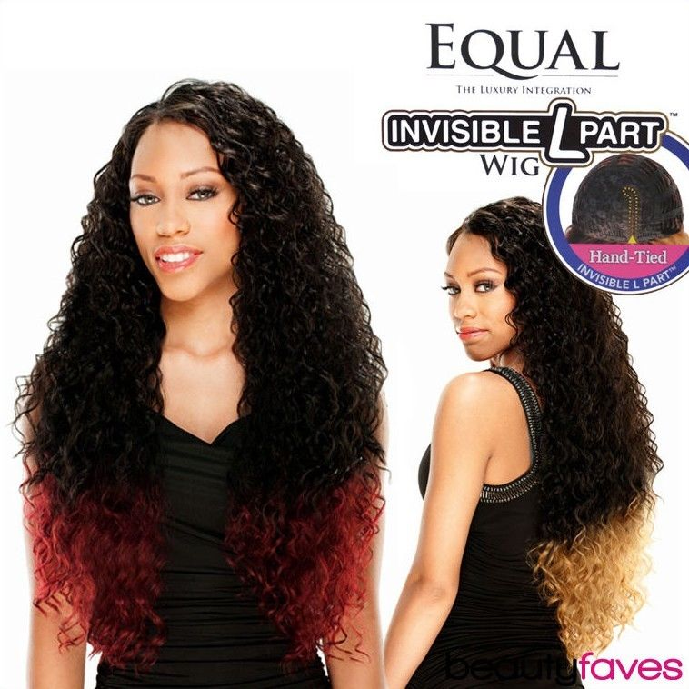 Paparazzi Freetress Equal Invisible L Part Synthetic Curly Hair