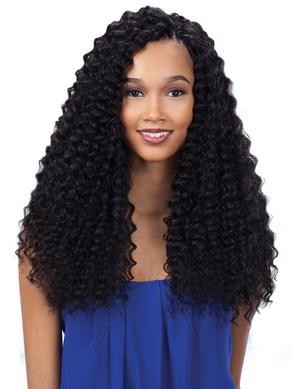 ... about 3X PRE-LOOP DEEP TWIST 16 - FREETRESS SYNTHETIC CROCHET BRAIDS