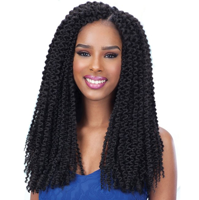 Crochet Hair With Loop : 3X PRE-LOOP ISLAND TWIST 16 - FREETRESS SYNTHETIC CROCHET BRAIDS ...