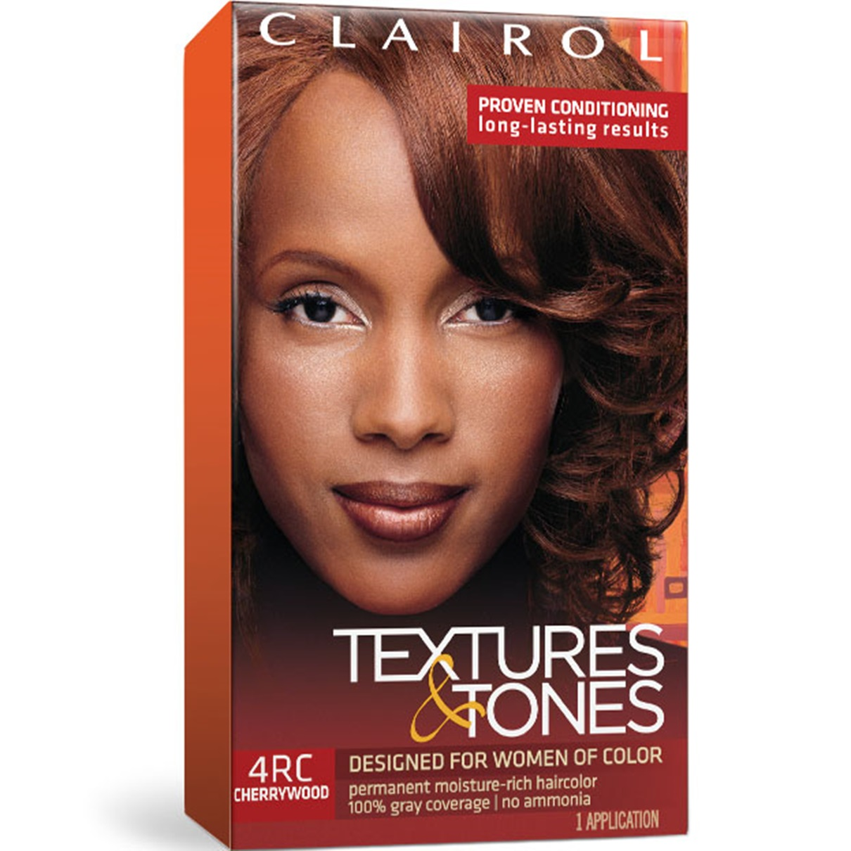 Buy Clairol Textures Tones Hair Color Silken Black 1b More