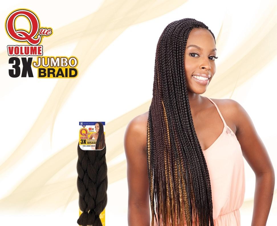 Milky Way Crochet Box Braids : ... MILKY WAY QUE KING JUMBO BRAID 3X VOLUME 100% KANEKALON BOX BRAIDING