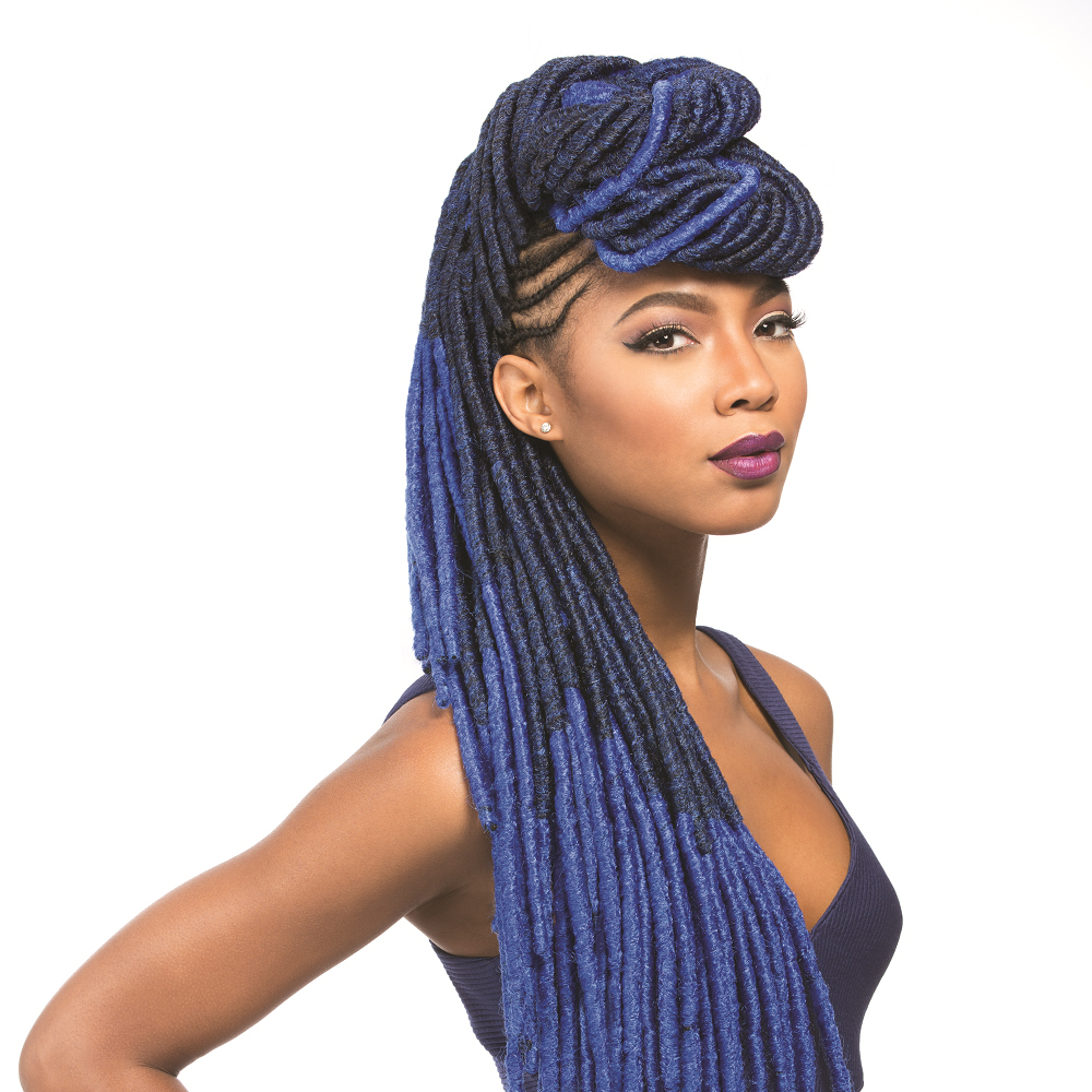 Crochet Braids Faux Locs : FAUX-LOCKS-20-034-SENSATIONNEL-XPRESSION-100-KANEKALON-CROCHET-BRAID ...