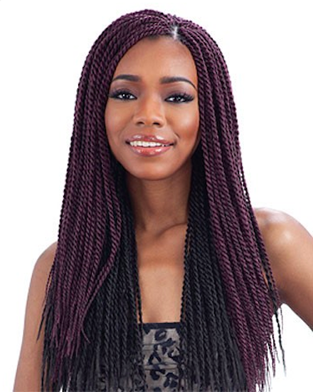Crochet Hair Pieces : ... TWIST SMALL - MODEL MODEL GLANCE BULK CROCHET BRAIDING HAIR EXTENSION