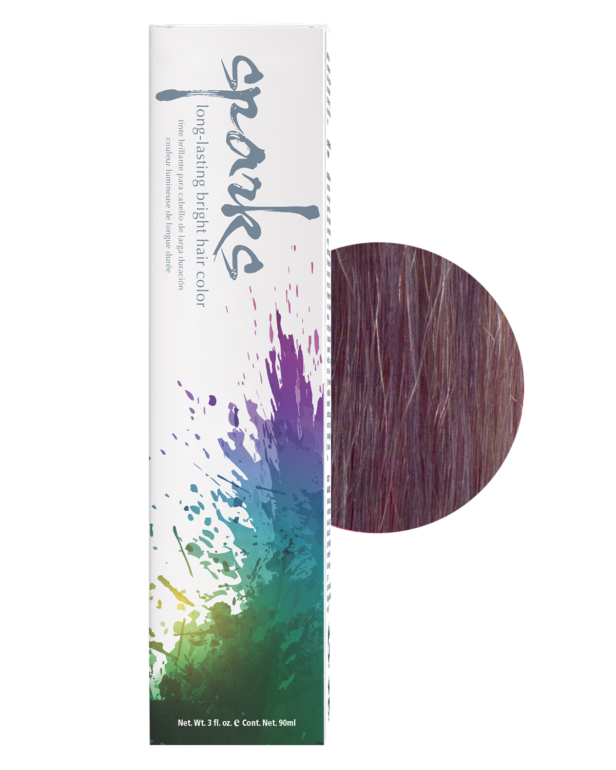 Sparks Long Lasting Bright Hair Color Creme Rinse Semi