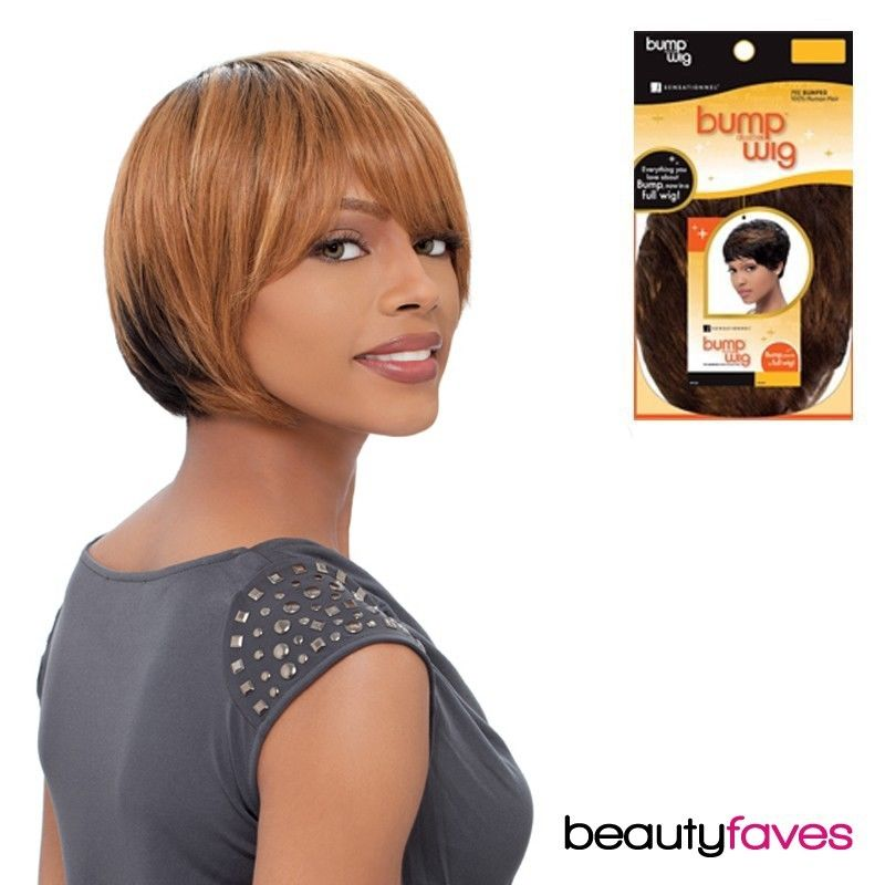 VOGUE CROP - SENSATIONNEL PRE BUMPED 100% HUMAN HAIR BUMP WIG BOUNCE DUBY WIG