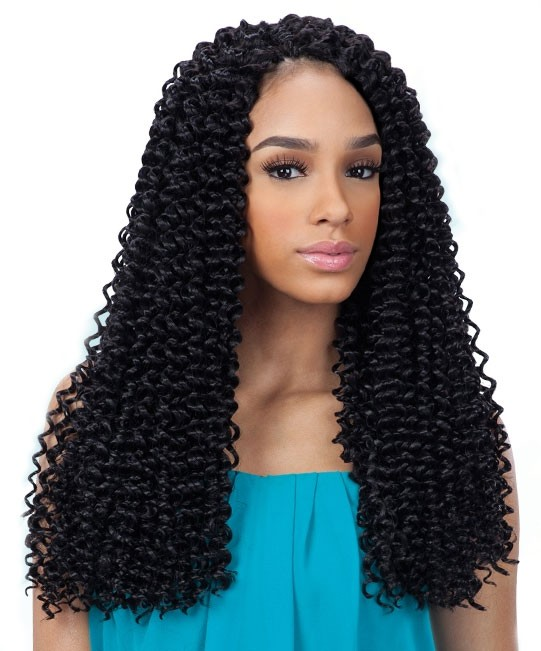 3X PRE-LOOP WATER WAVE 16 - FREETRESS SYNTHETIC CROCHET BRAIDS eBay