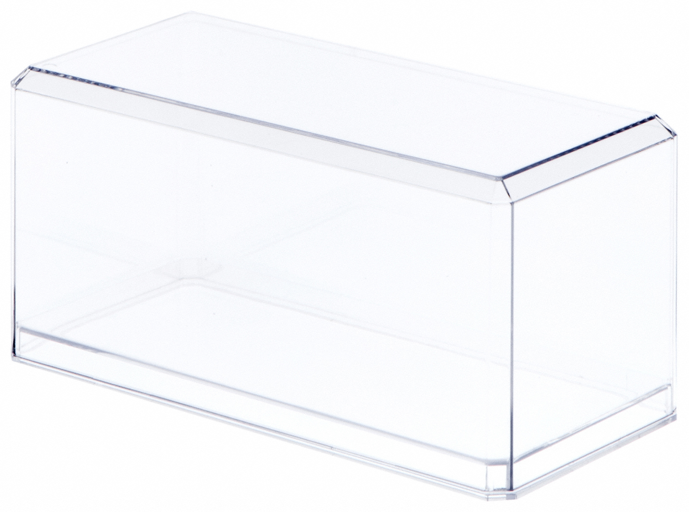 """Pioneer Plastics Acrylic Case for 1:32 Scale Cars 8/"""" x 3.75/"""" x 3.875/"""" 9 Pack"""
