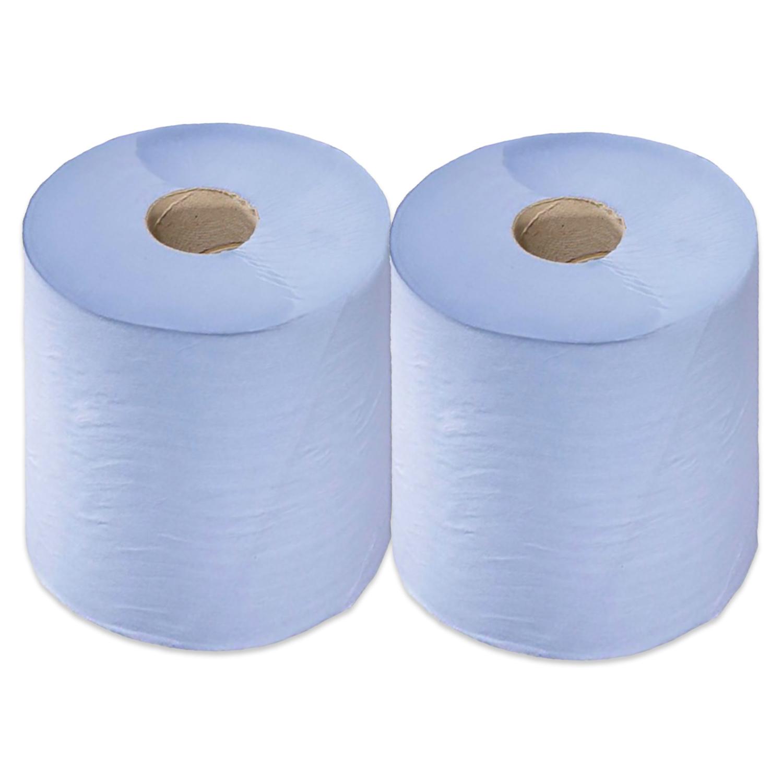 Calidad centrefeed Azul Roll-Papel Perforado 2Ply-Multi Compra Ofertas