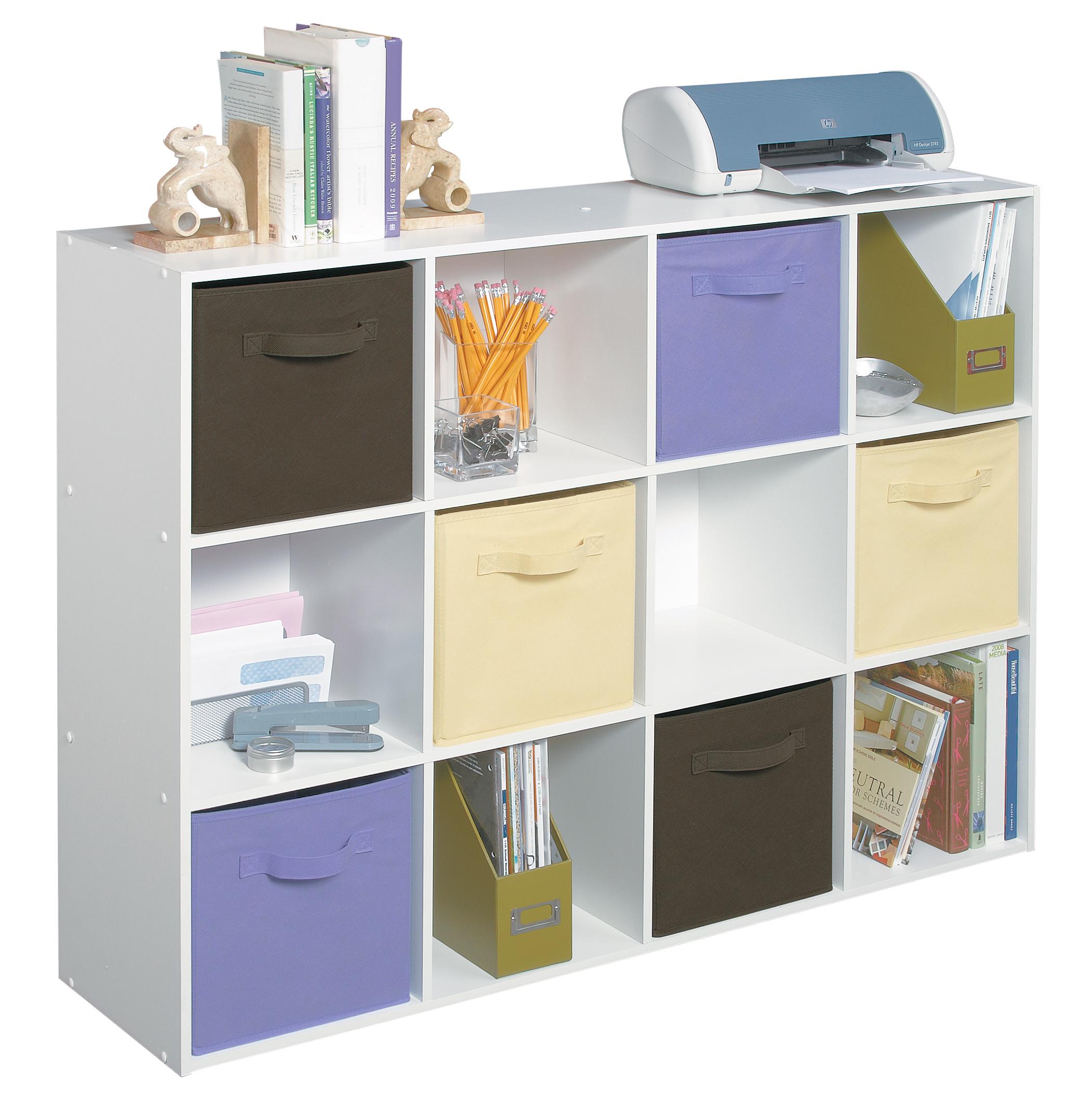closetmaid cubeicals 12 cube organizer ebay. Black Bedroom Furniture Sets. Home Design Ideas