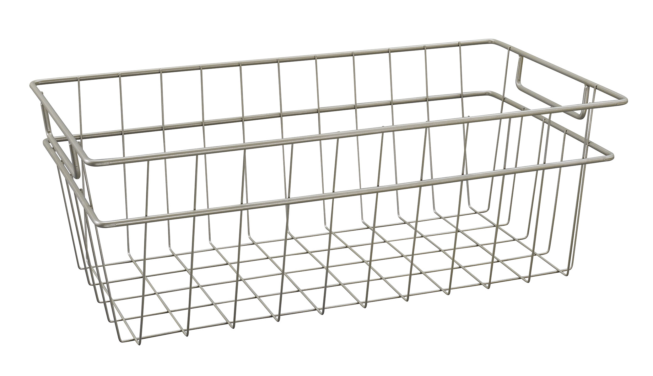 Wire Storage Baskets. Showing 40 of results that match your query. Search Product Result. InterDesign Classico Open Wire Large Storage Basket, Matte Satin. Add To Cart. There is a problem adding to cart. Please try again. Product - Spectrum Wire Basket. Product Image. Price $