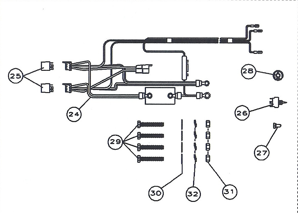 cmc_jack_plate_wiring_harness_14453 jack plate wiring diagram wiring diagram data