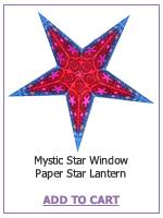 Mystic Star Window Paper Star Lantern