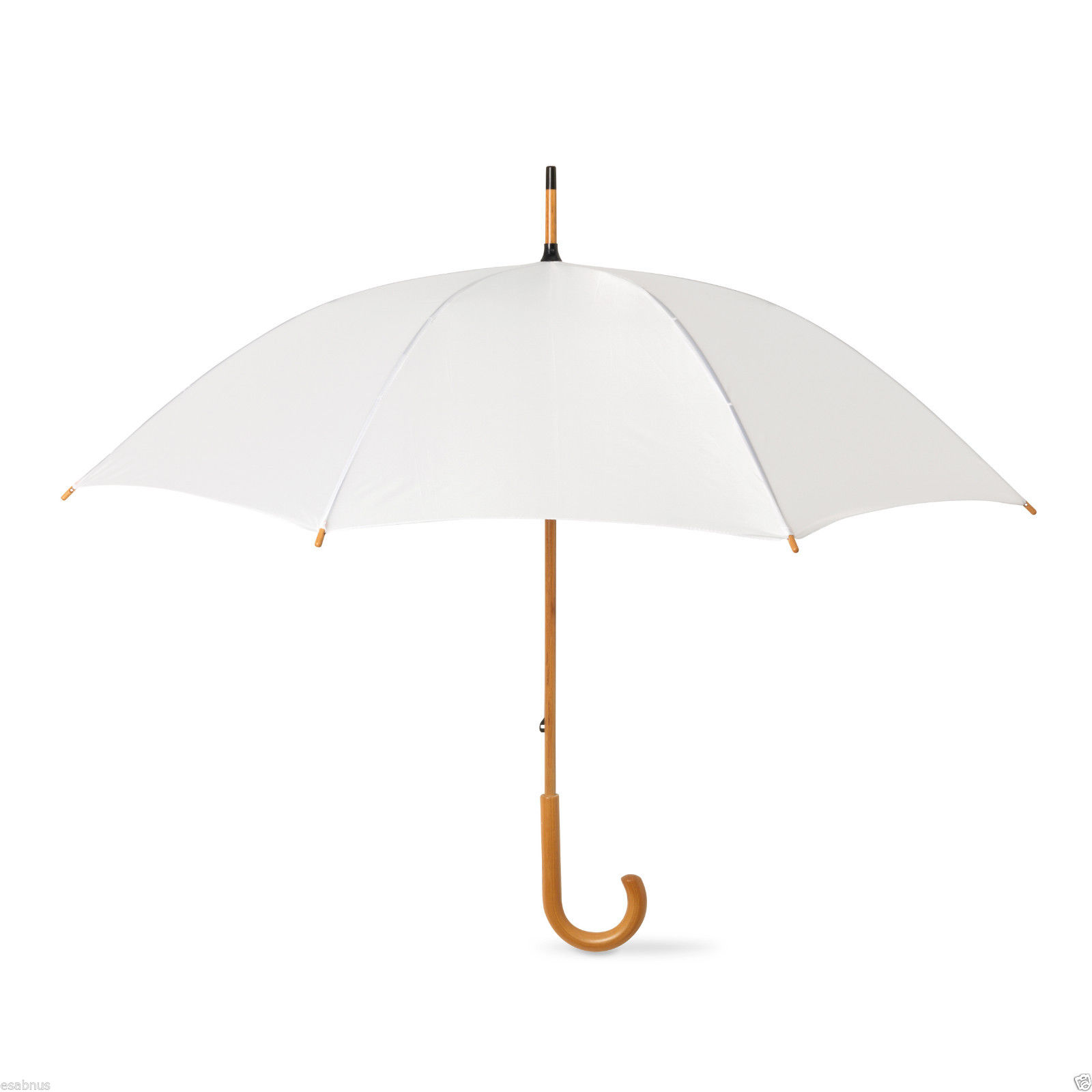 5-Wedding-Style-Umbrellas-crooked-wooden-handle-Size-90cm-long-x-106cm-Manual