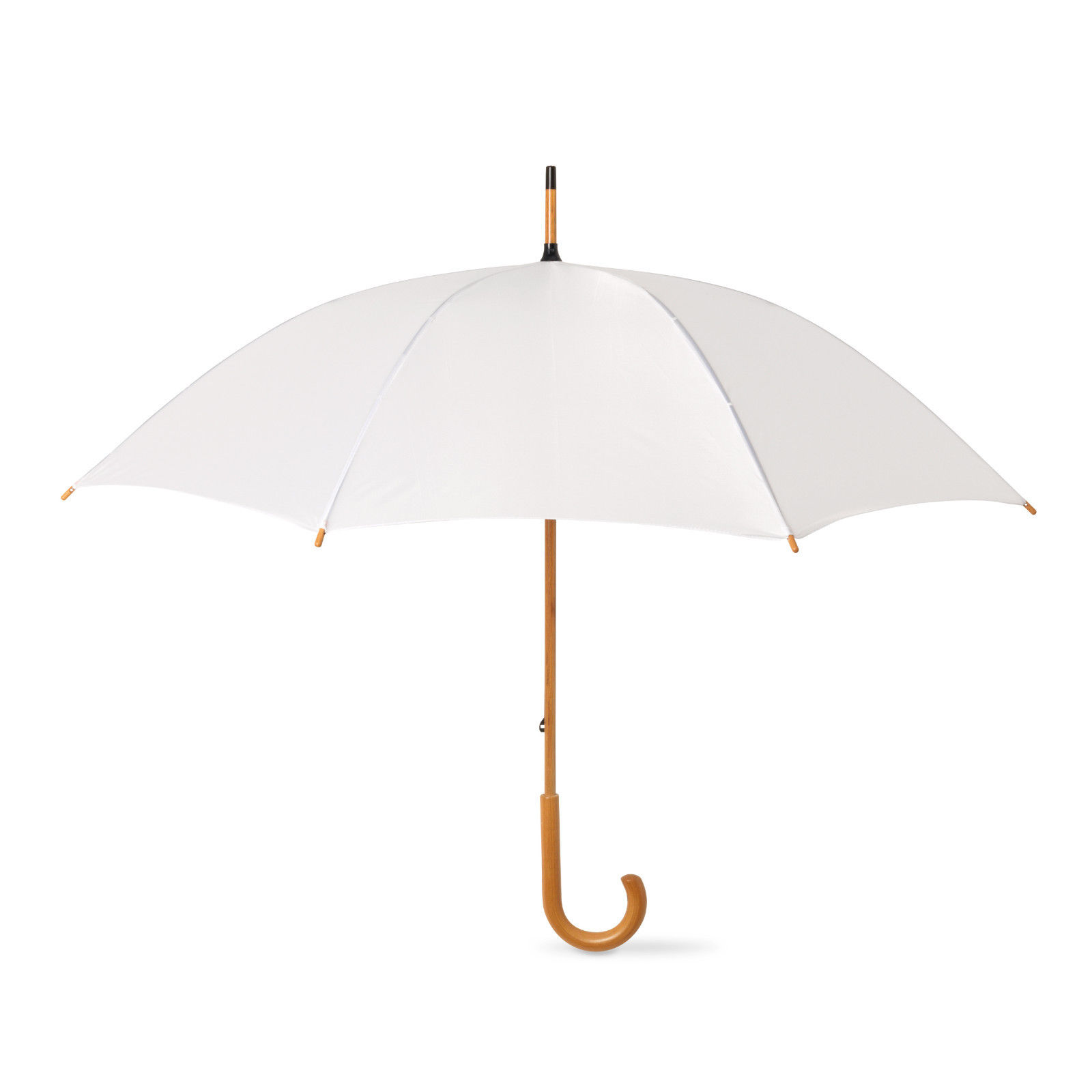 5-Wedding-Style-Umbrellas-with-crooked-wooden-handle-Bride-Groom-Bridesmaid