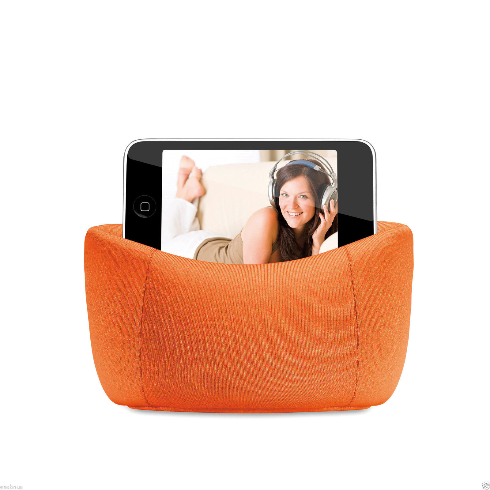 Bean-Bag-Chair-Holder-All-brands-of-Mobile-screens-up-to-5-034-or-your-MP3-player
