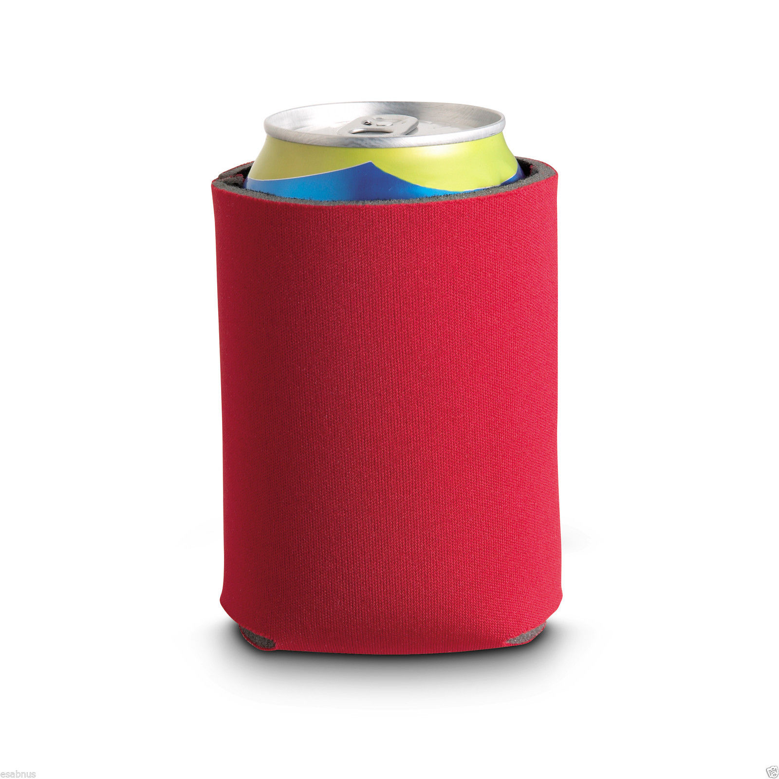 Styrofoam Beer Can Cooler ~ Can cooler insulator made of foam with polyester surface