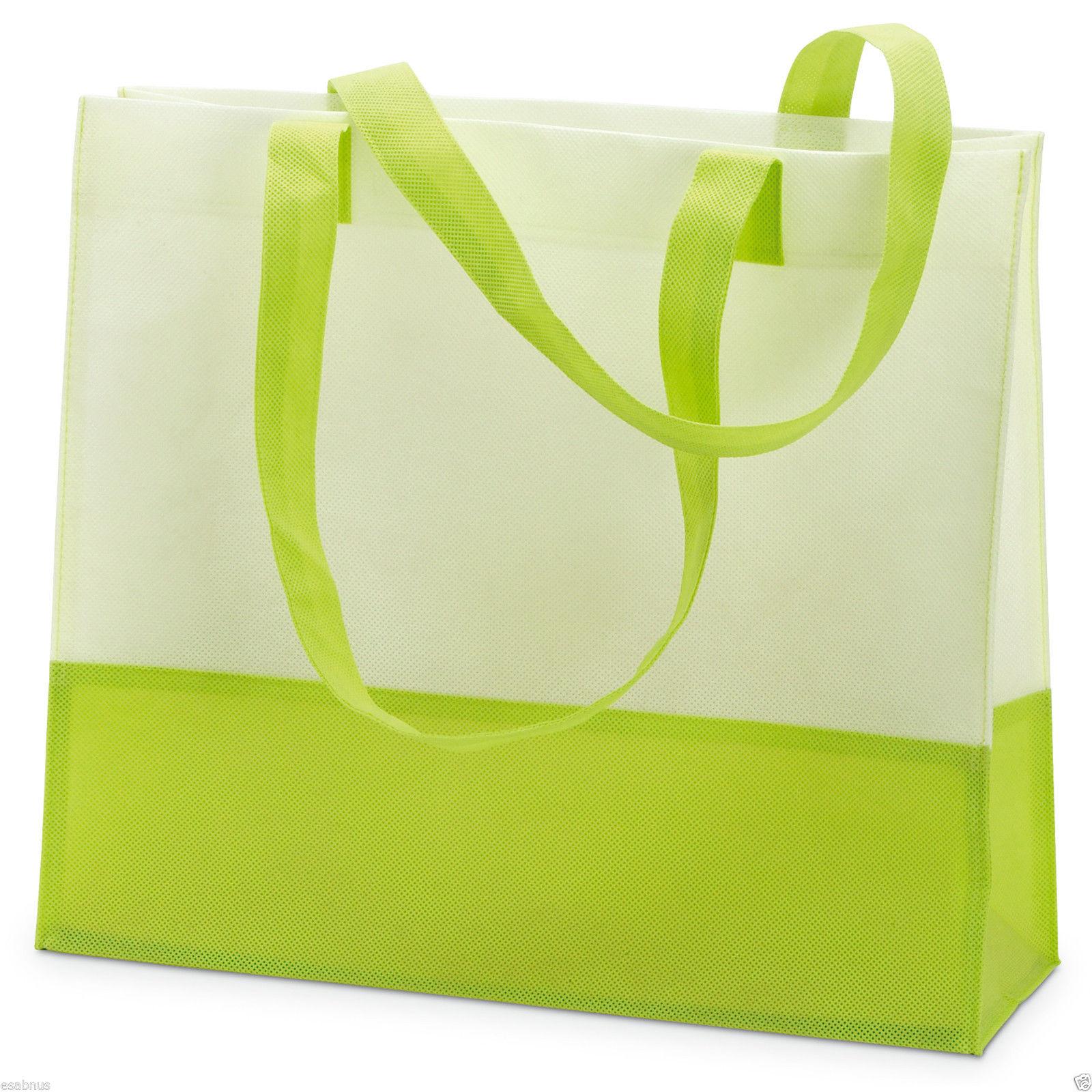 Non Woven Beach bag /Shopping bag 40 x 35.5 x 13 cm- lightweight