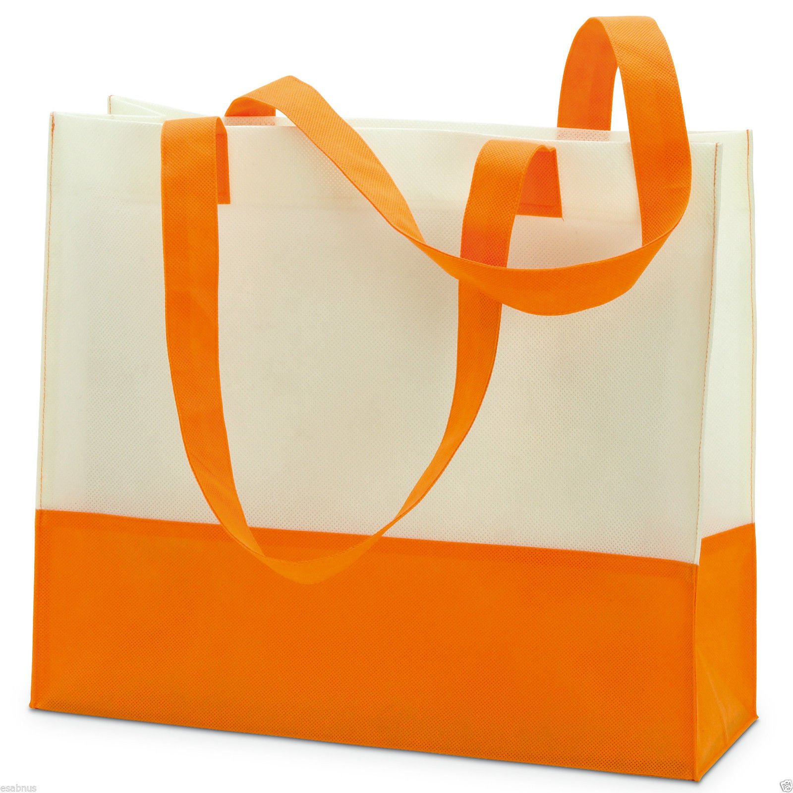 Shopping beach bag in non woven material. 40 x 35.5 x 13 cm ...