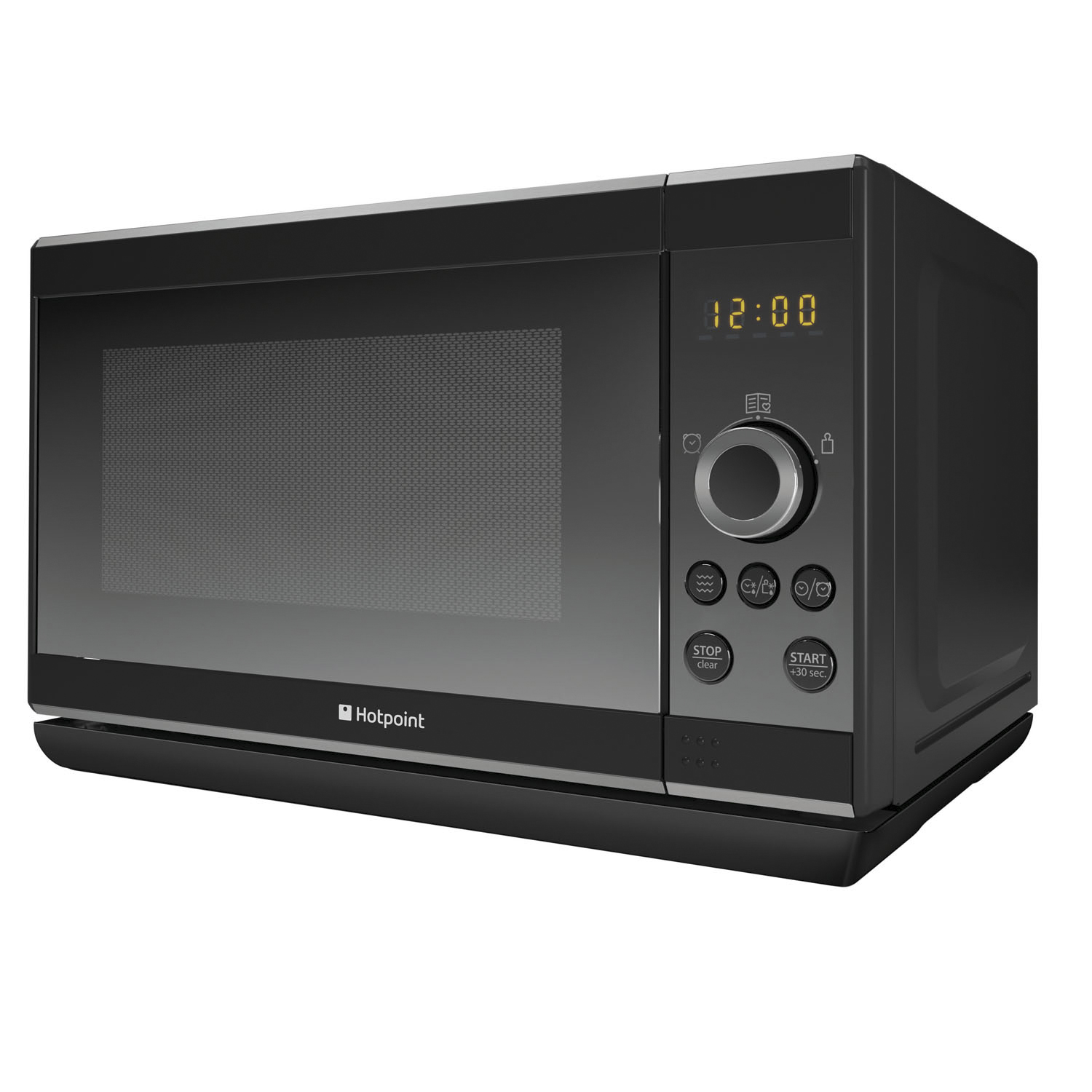 Hotpoint Countertop Microwave : Hotpoint Microwave MWH 2021 B UK Up to 800 W - Black