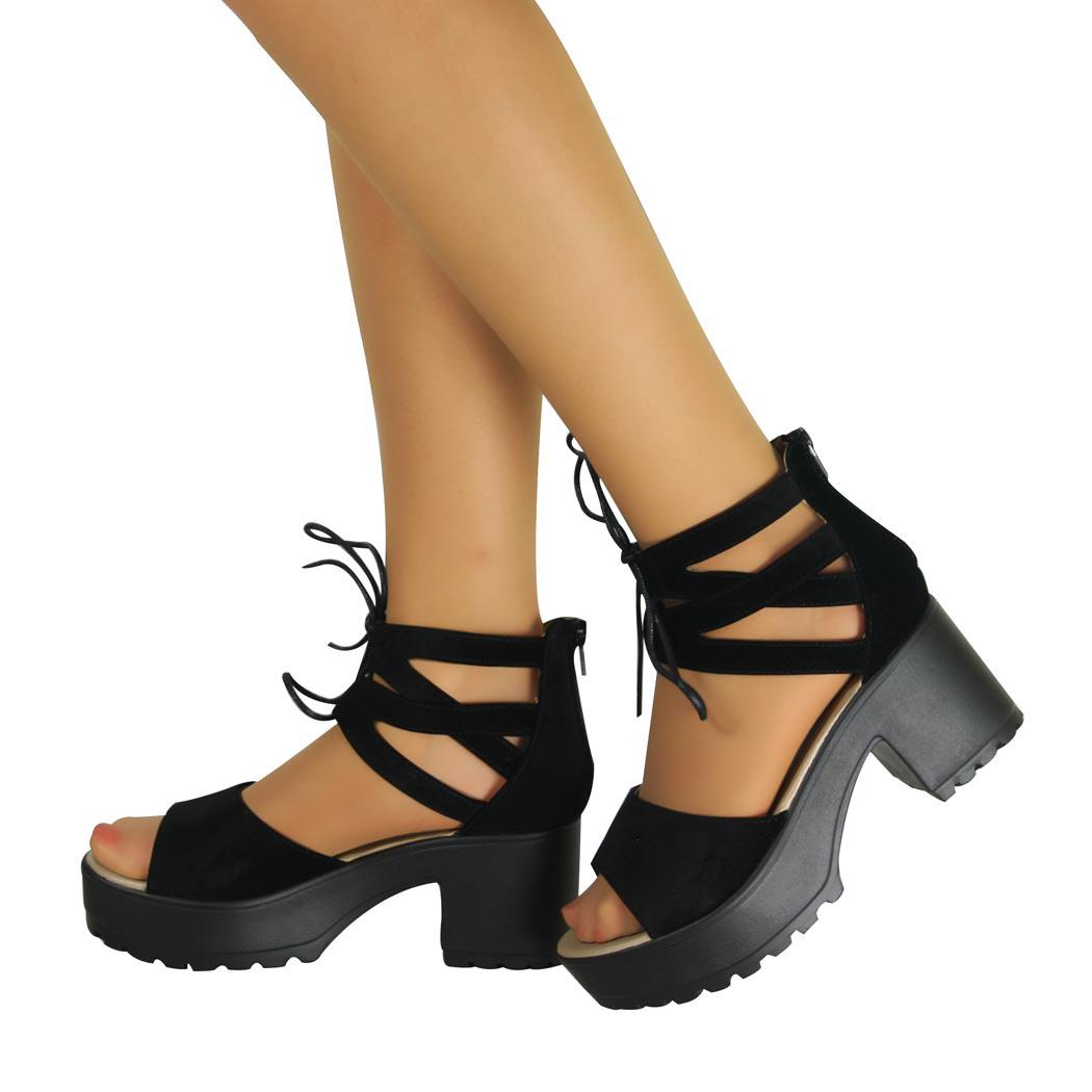 Luxury WomensLaceUpWalkingTrekkingHikingBootsShoesLadiesSports