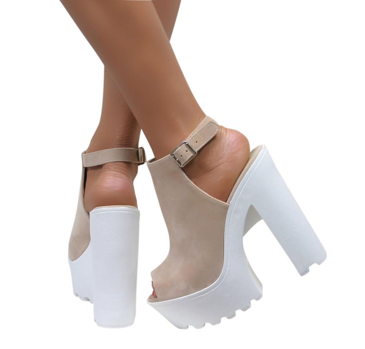 Block Platform Heels