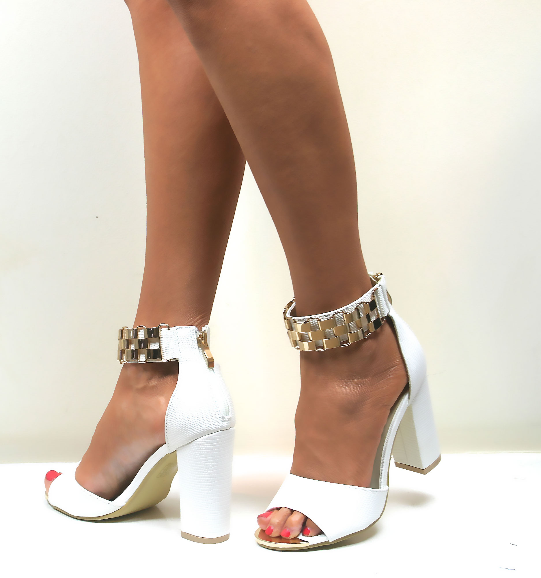 Ladies Strappy Heels