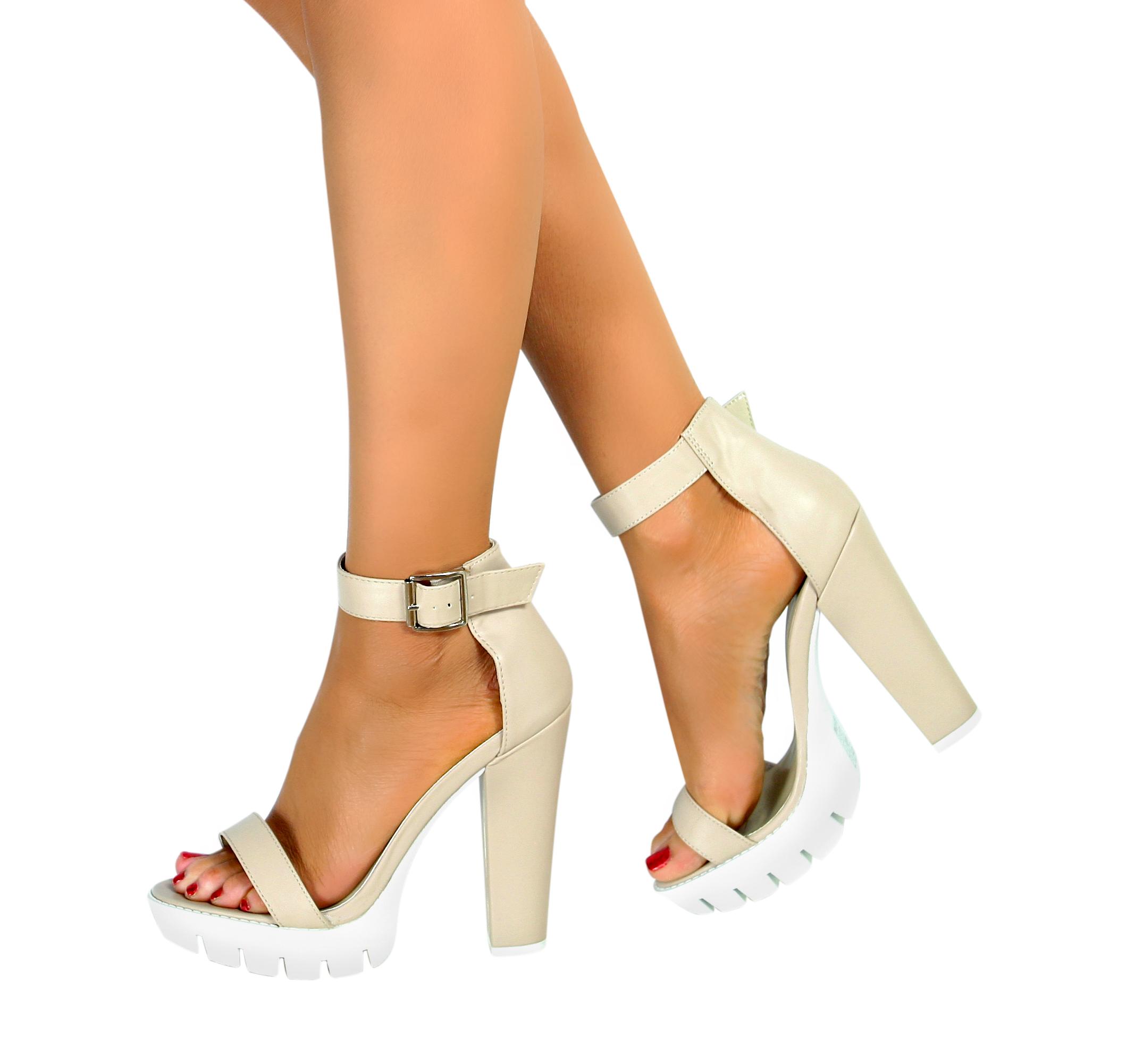 Nude Heels Size 3