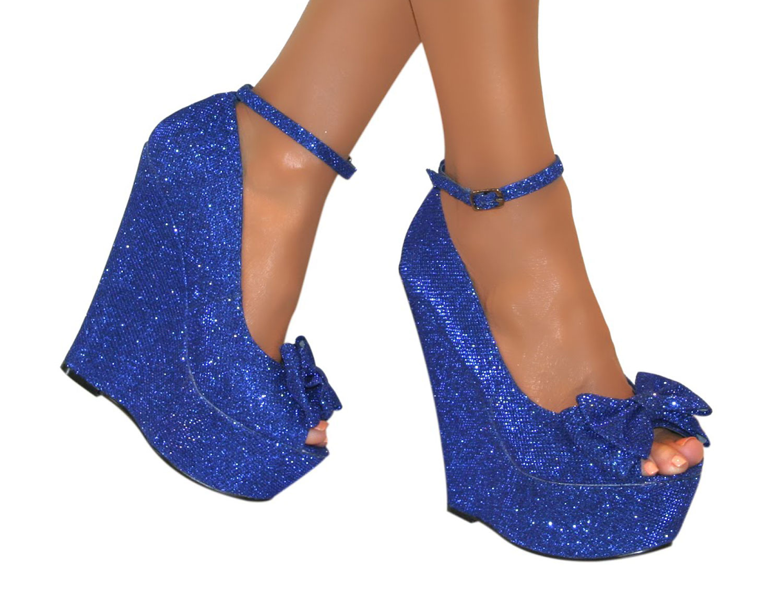 ladies high heel platform womens peep toe bow ankle strap. Black Bedroom Furniture Sets. Home Design Ideas