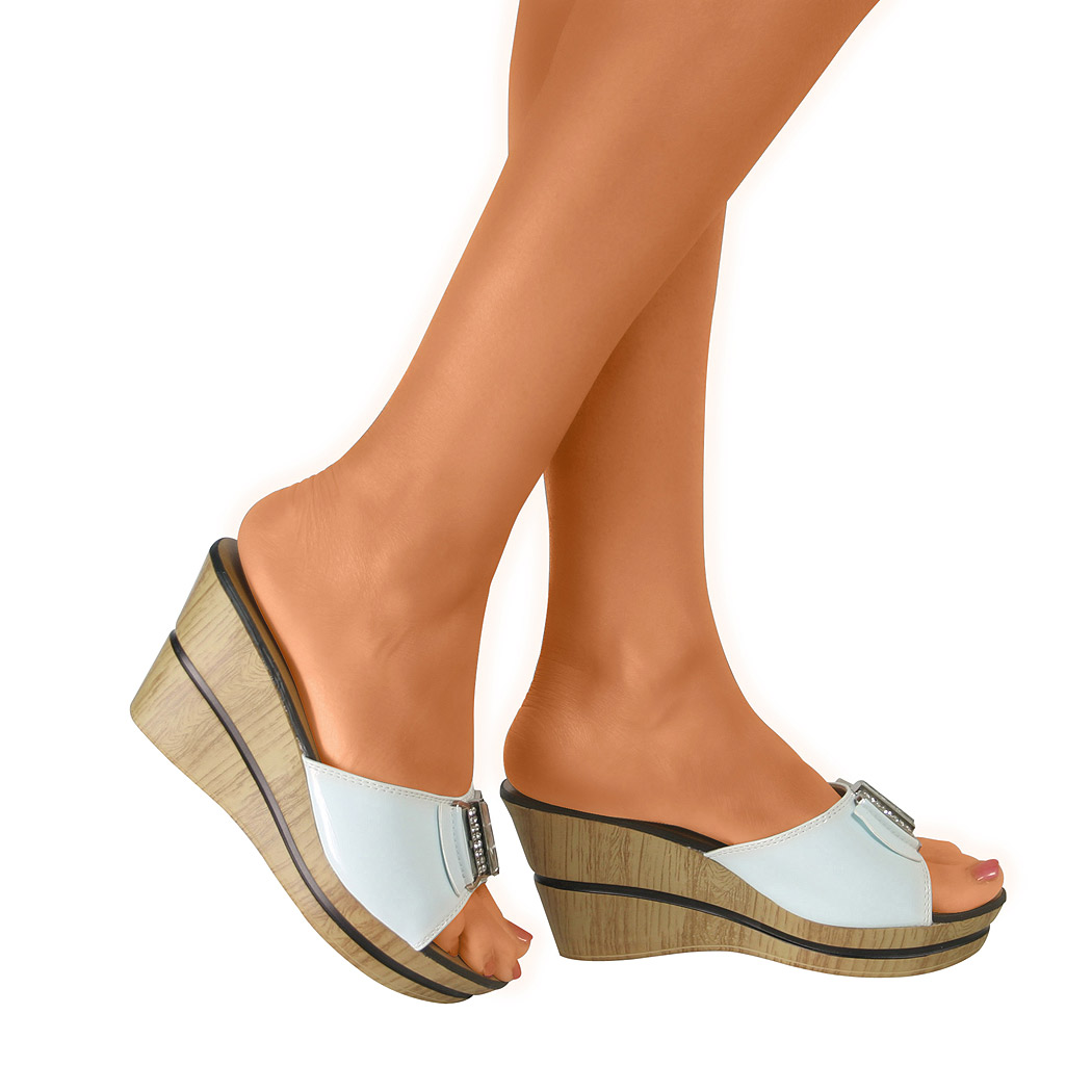 Sandals shoes summer - Treat Your Footwear Collection To A Update With These Fabulous Wedge Heeled Sandals
