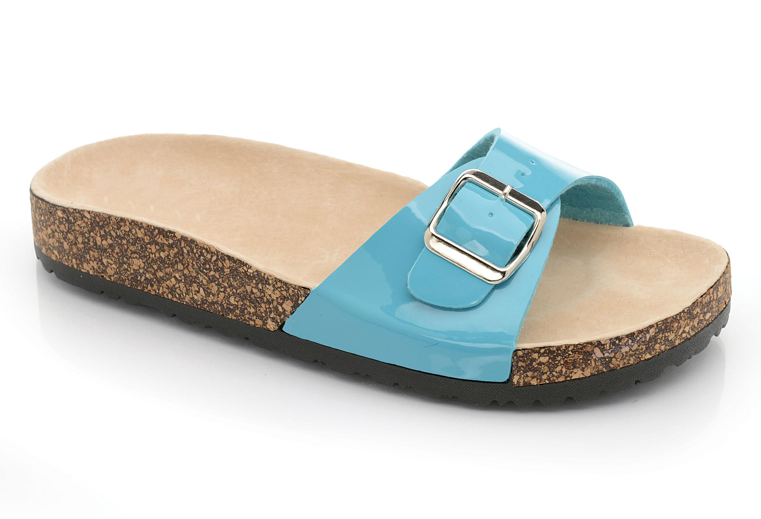 2e7bc256f78e Womens Mule Summer Sliders Flats Ladies Flip Flops Slip On Beach ...