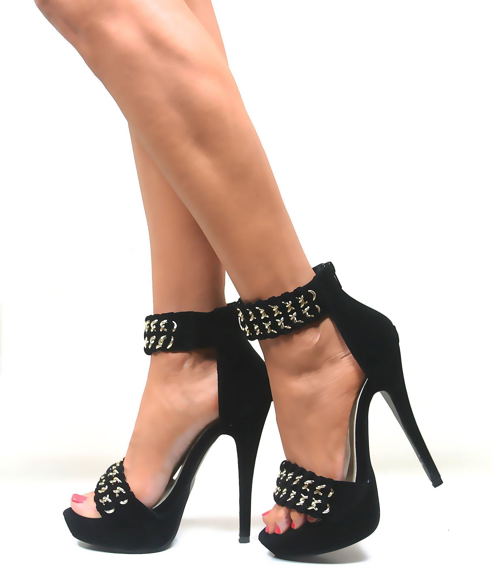 Find great deals on eBay for ankle cuff high heels. Shop with confidence.