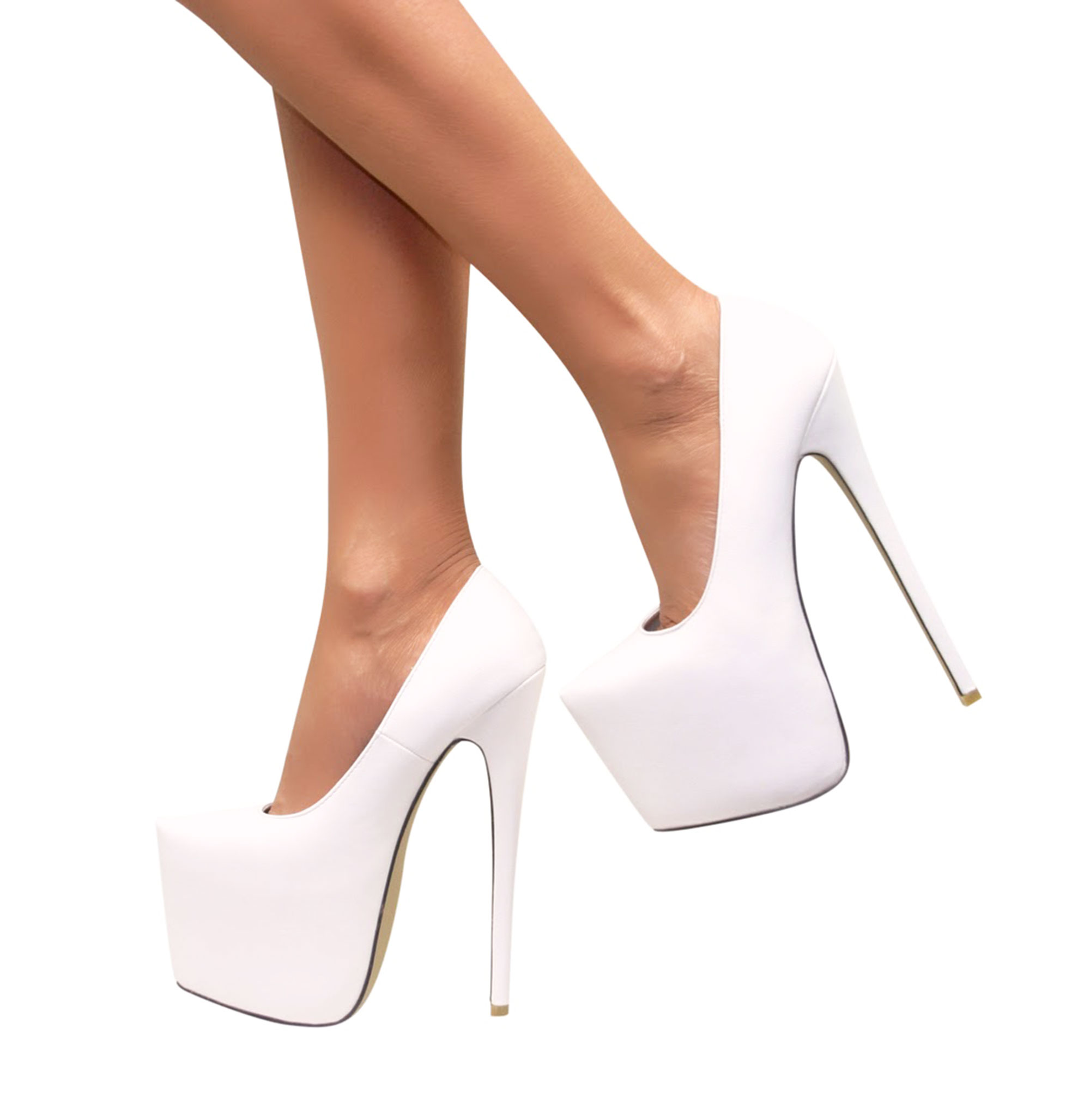 womens ladies high heels pointed toe concealed platform party court shoes size ebay. Black Bedroom Furniture Sets. Home Design Ideas