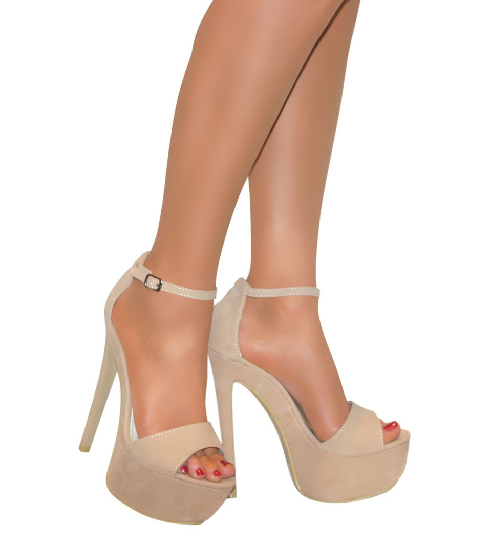 Ladies Nude High Heels