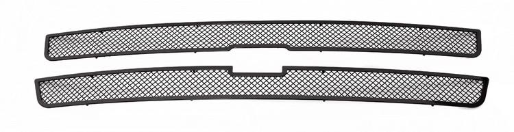 fits 1999 2002 chevy silverado 1500 00 06 suburban stainless black mesh grille