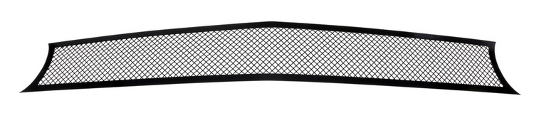 Fits 2015-2019 Dodge Challenger Stainless Steel Black Mesh Grille