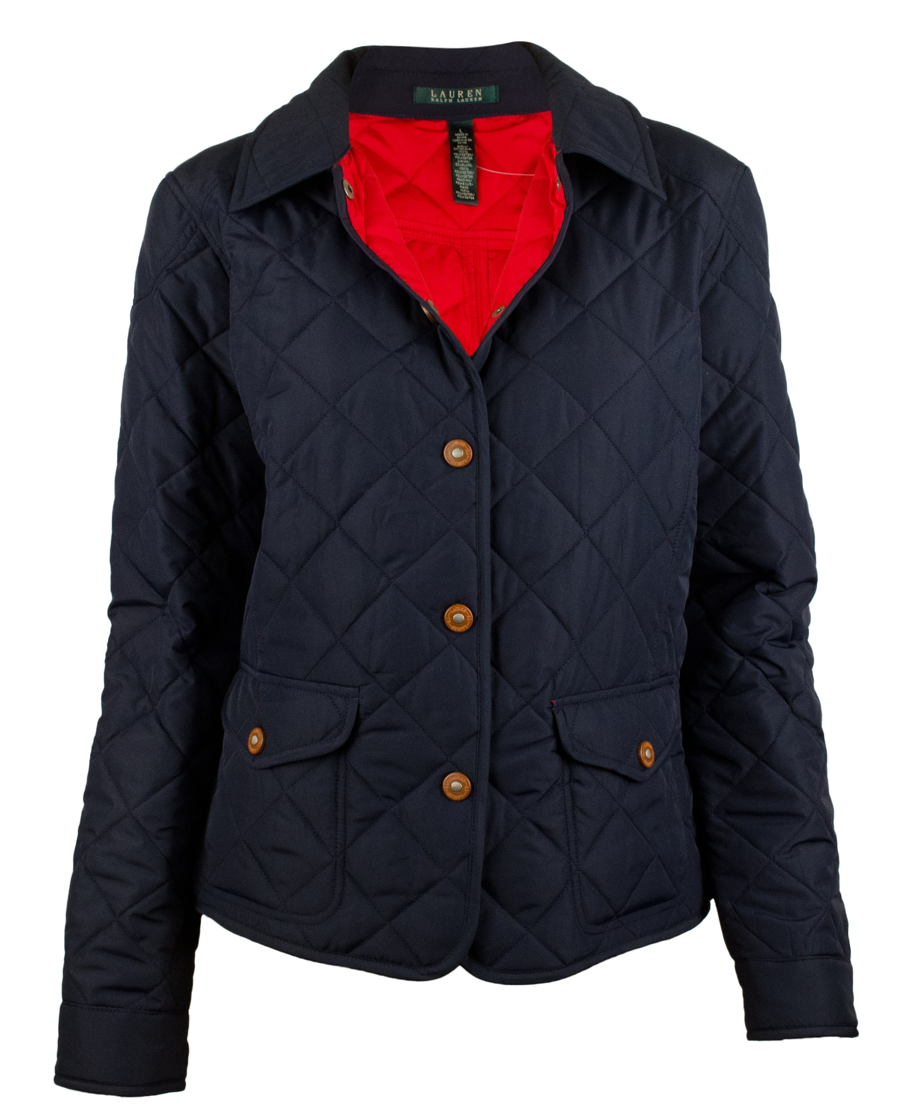 Womens quilted riding jacket