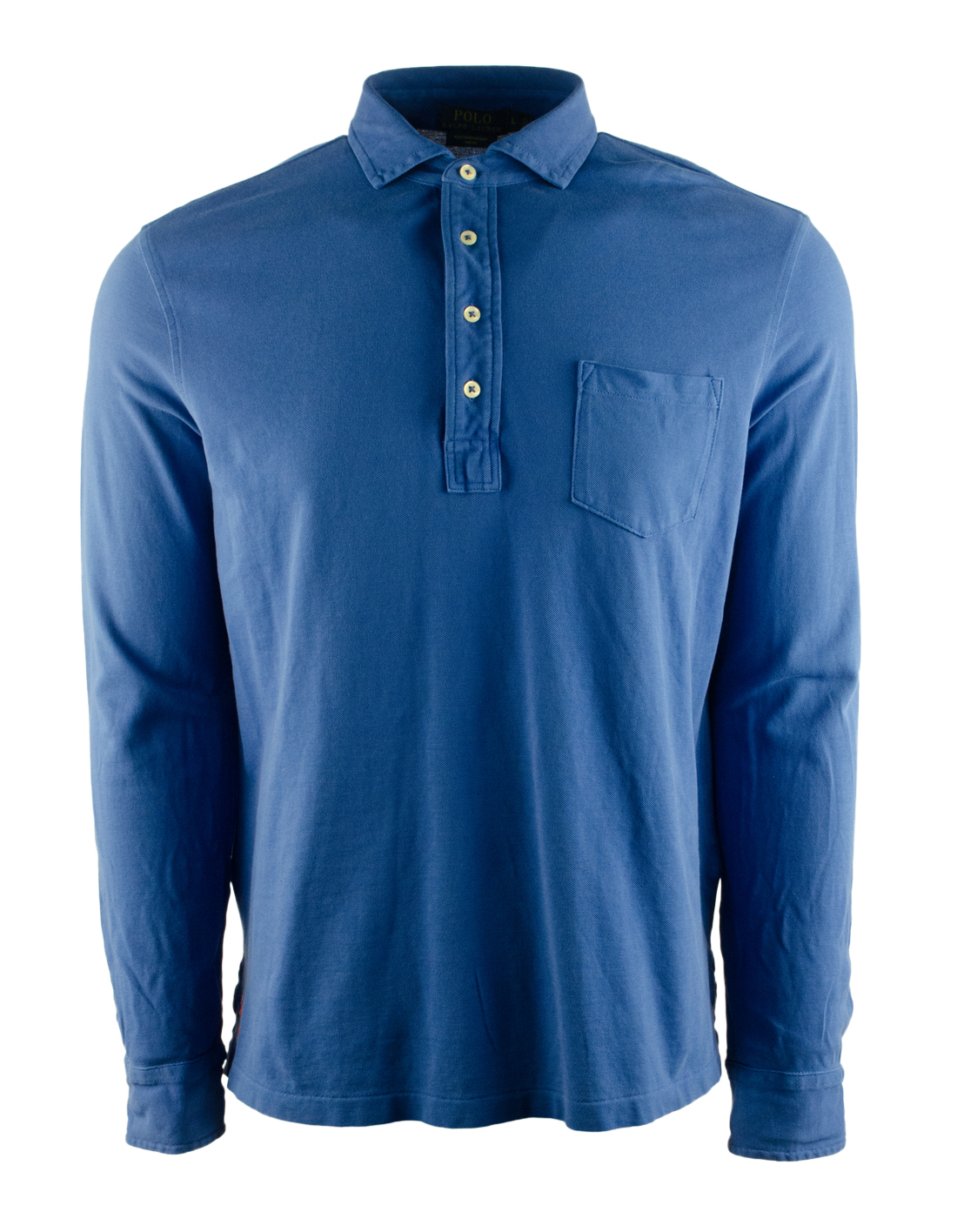 Polo ralph lauren men 39 s featherweight mesh long sleeve for Men s lightweight long sleeve polo shirts
