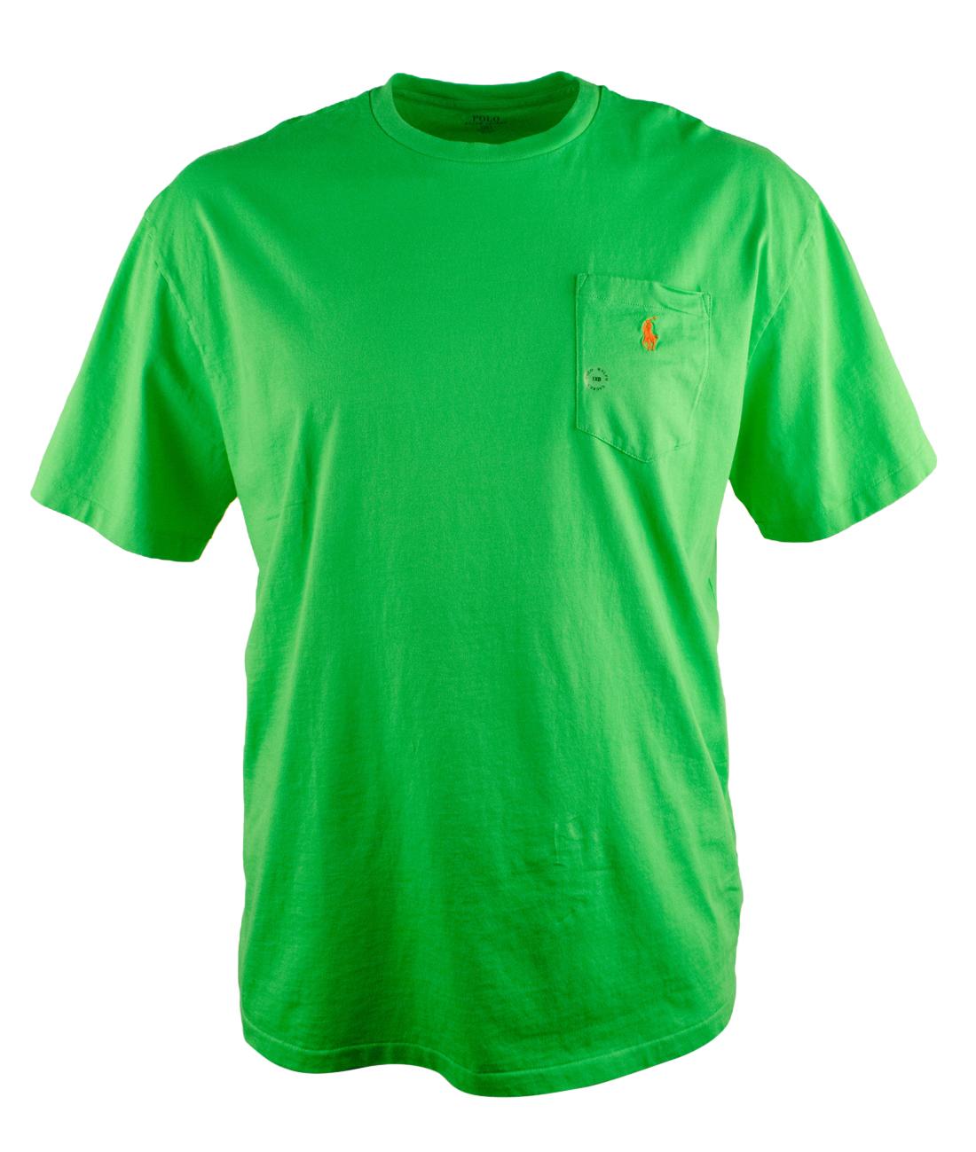 Polo ralph lauren men 39 s big and tall crewneck short sleeve for Tall ralph lauren polo shirts