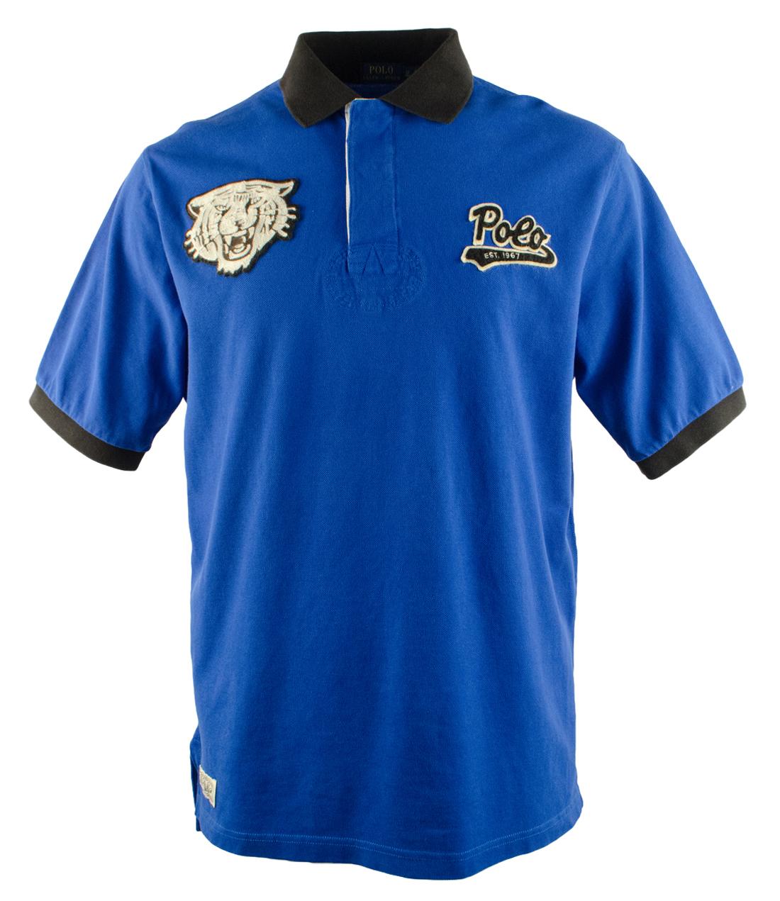 Polo ralph lauren men 39 s big and tall short sleeve sport for Tall ralph lauren polo shirts